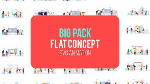 Big Pack Of Flat Concept