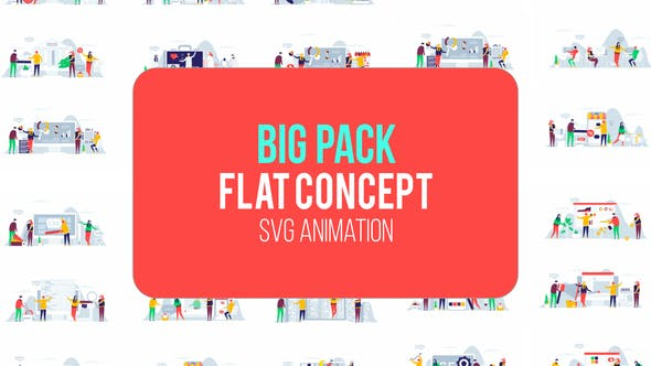 Thumbnail for Big Pack Of Flat Concept