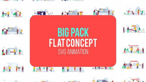 Grand Pack De Concept Plat