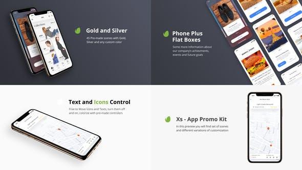 Thumbnail for Xs - App Presentation Kit