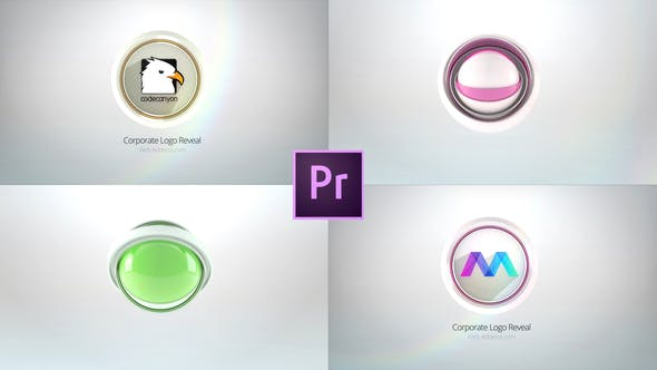 Clean Business Logo Reveals