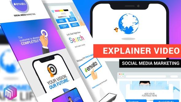 Thumbnail for Explainer Video | Social Media Marketing