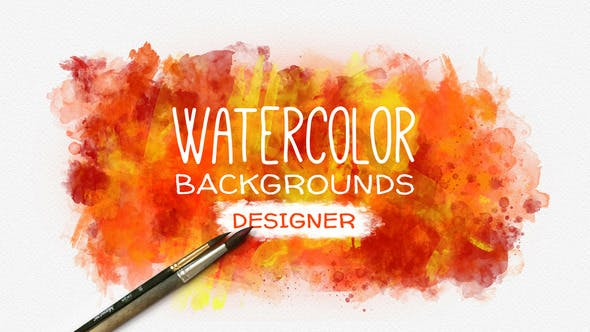 Thumbnail for Watercolor Background Designer
