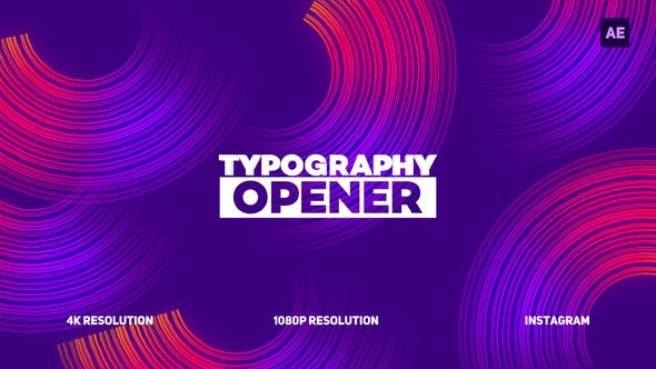 Thumbnail for Typography Opener