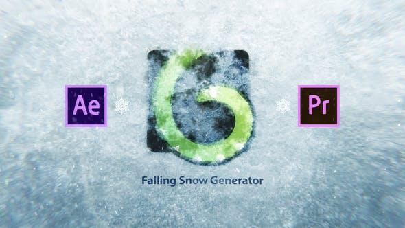 Thumbnail for Snow Falling Generator