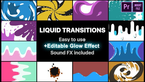 Thumbnail for Fluid Motion Transitions Pack