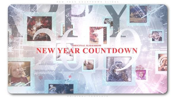 Thumbnail for New Year Countdown Slides