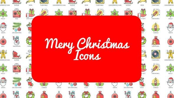 Thumbnail for Mary Christmas - 30 Animated Icons