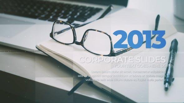 Thumbnail for Corporate Timeline Slides