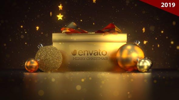 Thumbnail for Christmas / Gift Logo Ident (2018)