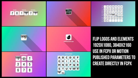 Thumbnail for Flip Logos Elements