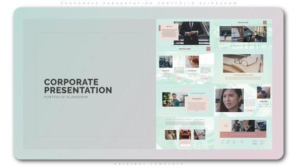 Cover Image for Corporate Presentation Portfolio Slideshow