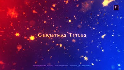 Christmas Titles Mogrt