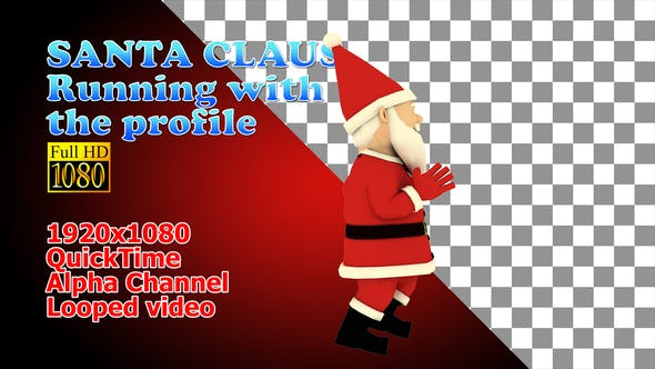 Thumbnail for Santa Running Christmas