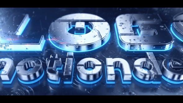 Rain 3D Logo