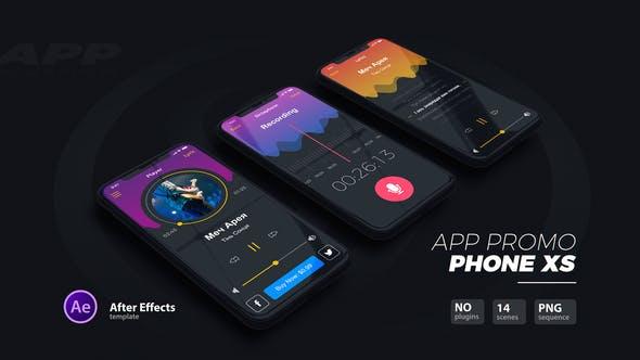 Thumbnail for Promoción de la aplicación//Teléfono Xs