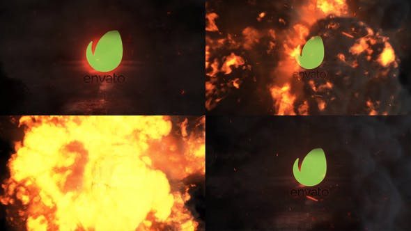 Thumbnail for Exploding Logo Reveal