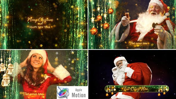 Cover Image for Christmas Broadcast Pack - Apple Motion