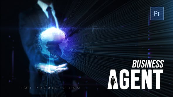 Thumbnail for Business Agent - Premiere Pro Project