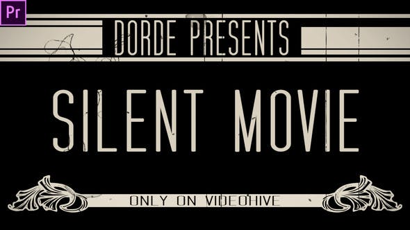 Thumbnail for Silent Movie (Premiere Pro)