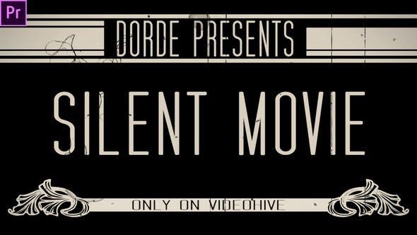 Тихий фильм (Premiere Pro)