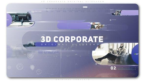 Thumbnail for 3D Corporate Original Slideshow