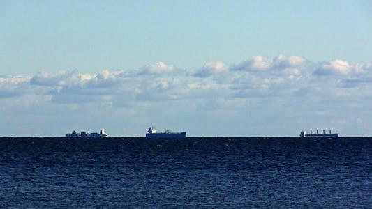 Thumbnail for Cargo Ships At Anchor