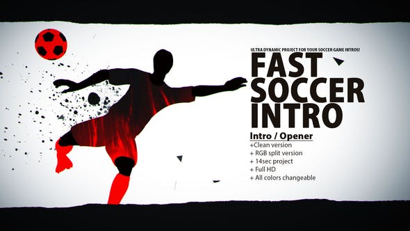 Thumbnail for Fast Soccer Intro