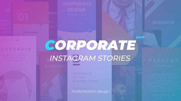 Thumbnail for Corporate Instagram Stories