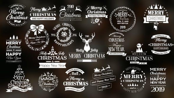 Thumbnail for Twenty Christmas Badges
