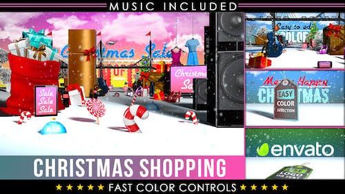 Christmas Shopping Sale