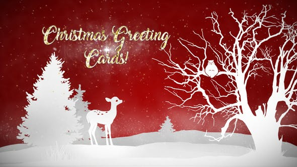 Thumbnail for Christmas Greeting Cards