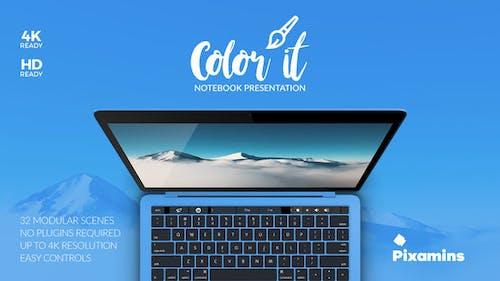 Color it - Notebook Presentation