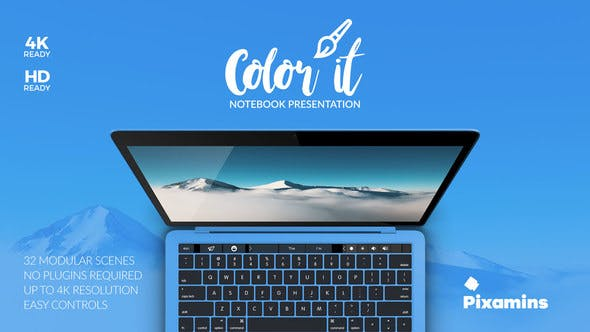 Thumbnail for Color it - Notebook Presentation