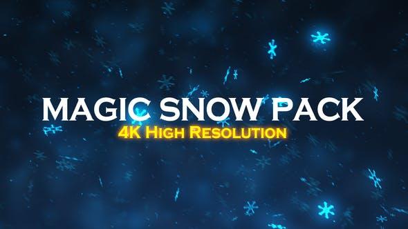 Thumbnail for Christmas Magic Snow Pack 4K