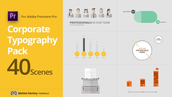 Thumbnail for SEO Corporate Typography Pack for Premiere Pro