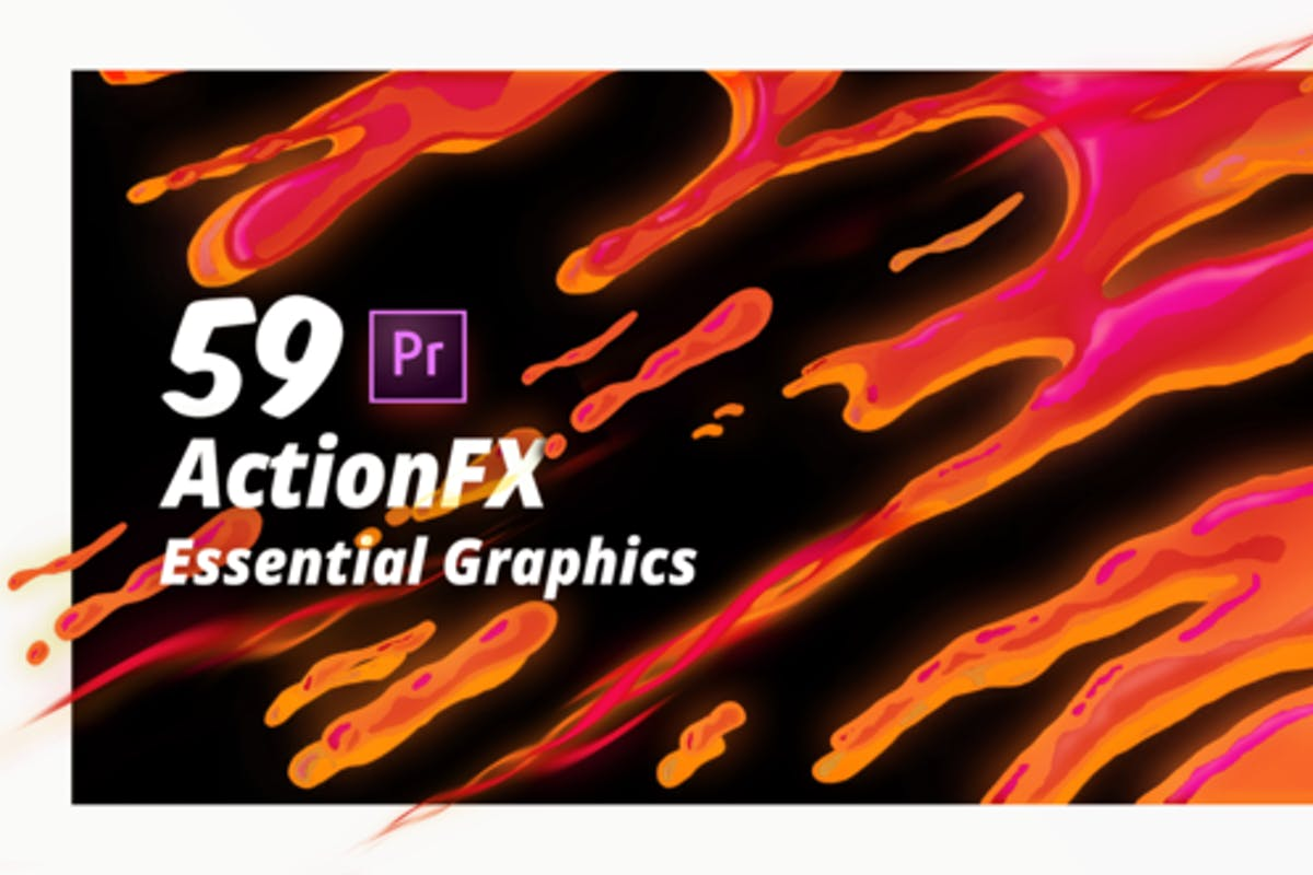 322 Elements Video Templates Compatible with Adobe Premiere Pro