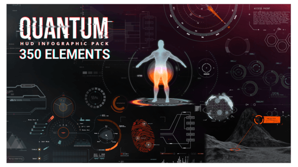 Thumbnail for Quantum HUD Infographic