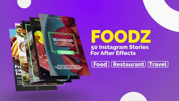 Thumbnail for Foodz Instagram Stories