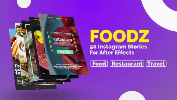 Thumbnail for Foodz Instagram Stories