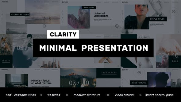 Thumbnail for Clarity // Minimal Presentation - Clean Promo