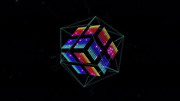 Cover Image for Led Color Cube 4K