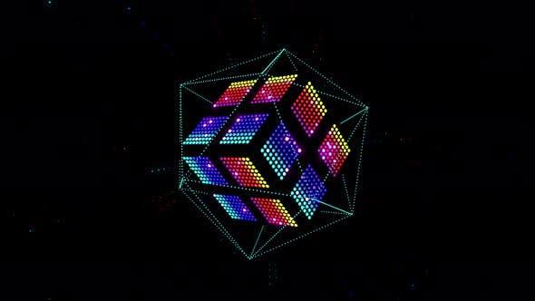 Thumbnail for Led Color Cube 4K