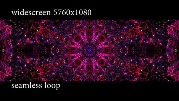 Thumbnail for Red Flower Mandala Widescreen