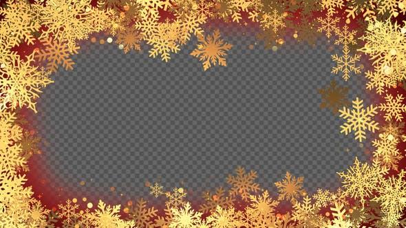 Thumbnail for Christmas Frame 07 Hd