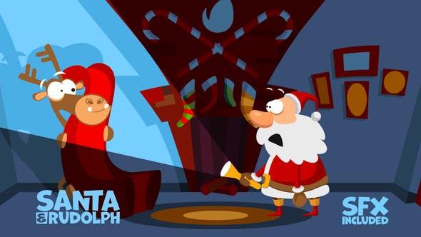 Thumbnail for Christmas Logo Opener 4 - mask