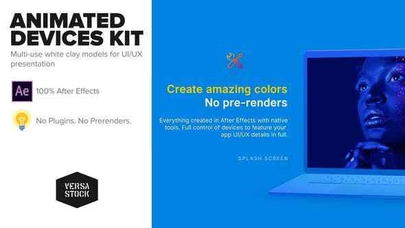 Thumbnail for Animated Devices Kit | UI UX Promo