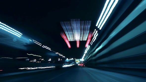 Thumbnail for Night City Suburbs Drive