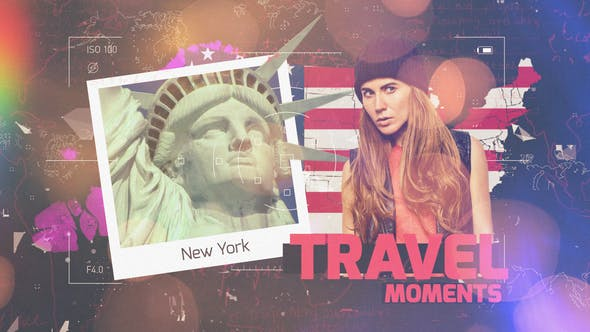 Thumbnail for Presentación de diapositivas Travel Moments