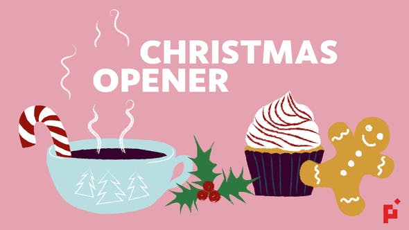 Thumbnail for Illustrated Greeting // Christmas Opener